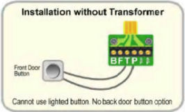 wiring without transformer